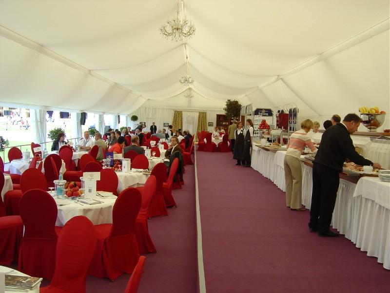 VIP Zelte von Stromeyer Hallen - Radolfzell am Bodensee