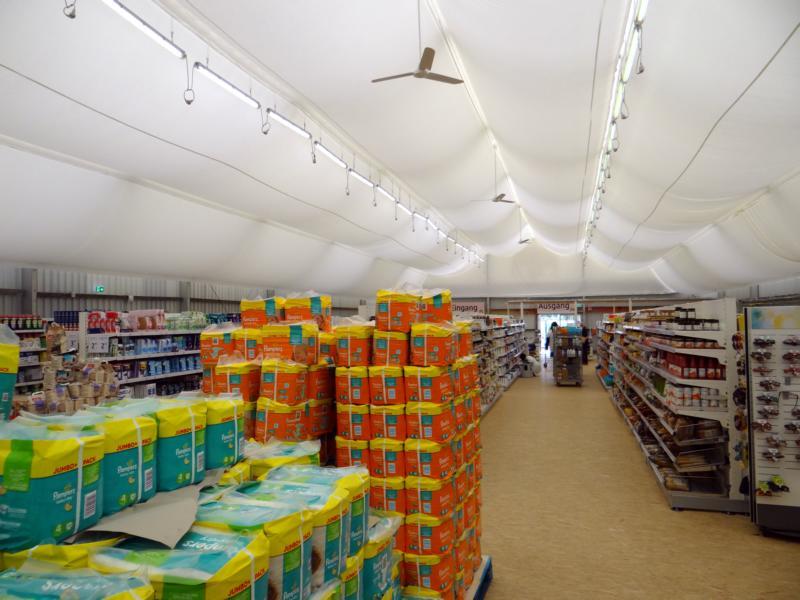 Verkaufszelte - Verkaufsraum auf Zeit - Stromeyer Hallen in Radolfzell am Bodensee